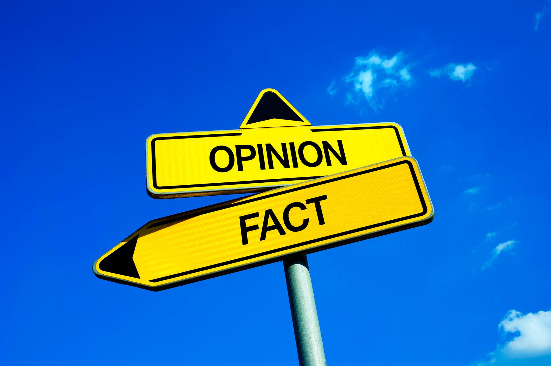 """Fatos e opiniões sobre a """"pós-verdade"""""""